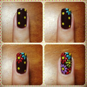 Flower Design Nail Art Design Tutorial