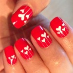 Cute Heart Nail Design - Dior Nail Glow
