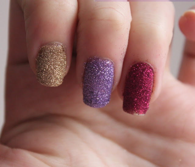 glitter nail polish ideas 29 - Nail Polish Design Ideas