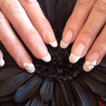White Bows 3D Nail Art Designs