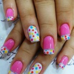 Multi Coloured Spring Nail Designs