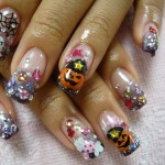 Halloween Cute Nail Design