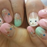 Kitty Cat Cute Nail Designs