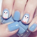 Owl Cute Nail Design