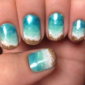 Beach Summer Nails Designs