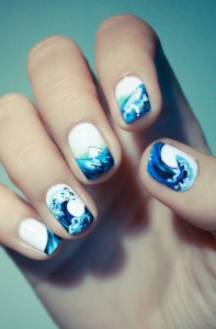 Summer Waves Summer Nail Designs