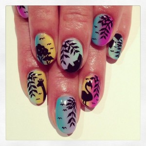 Jungle African Summer Nail Designs