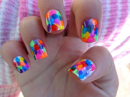 Summer nails ideas designs and tutorials page 3 of 5 nail summer balloon summer nail designs prinsesfo Choice Image