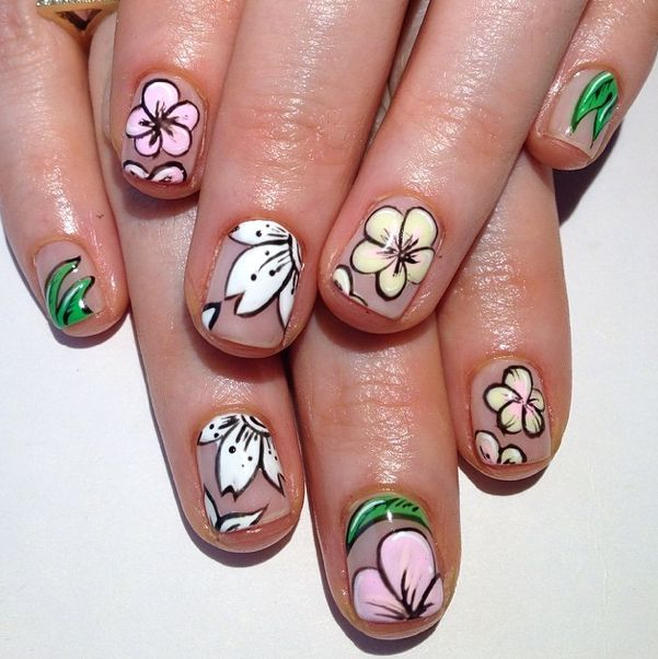 Freehand Nail Art Designs - Page 2 of 5