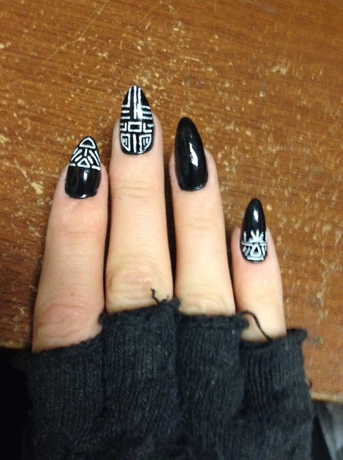 Art Designs: Freehand Nail Art Designs