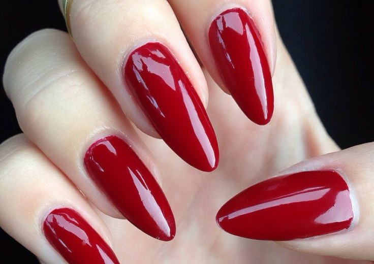 Red Nail Designs And Art