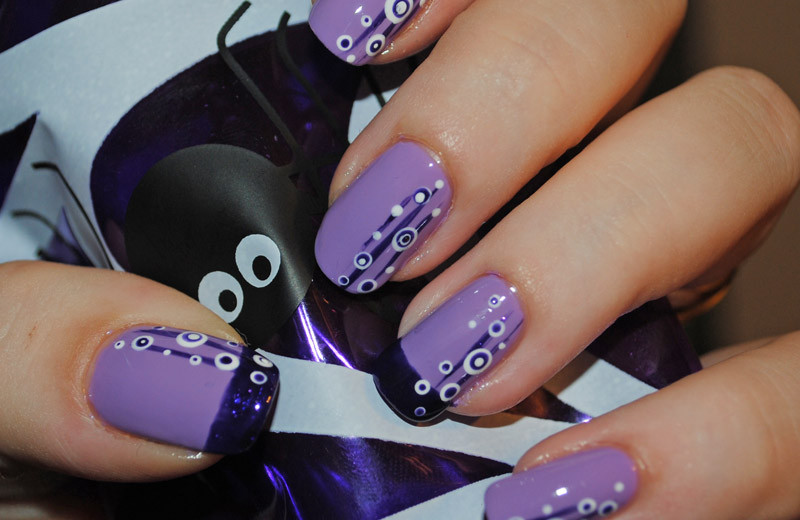 Purple Nail Designs And Art