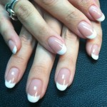 Rounded Nude Nails