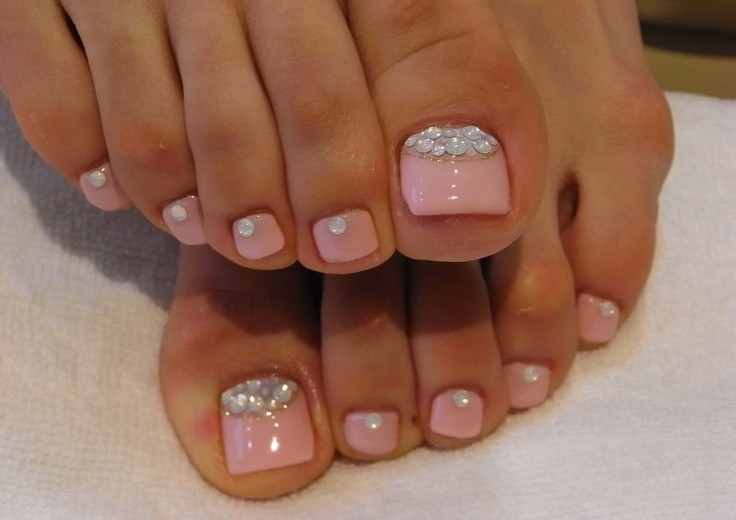 30 Amazing Cute Toe Nail Designs - 30 Amazing Cute Toe Nail Designs - Nail Designs For You