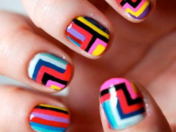 Simple nail designs for short nails nail designs for you use the page numbers below to see more short nail designs prinsesfo Images