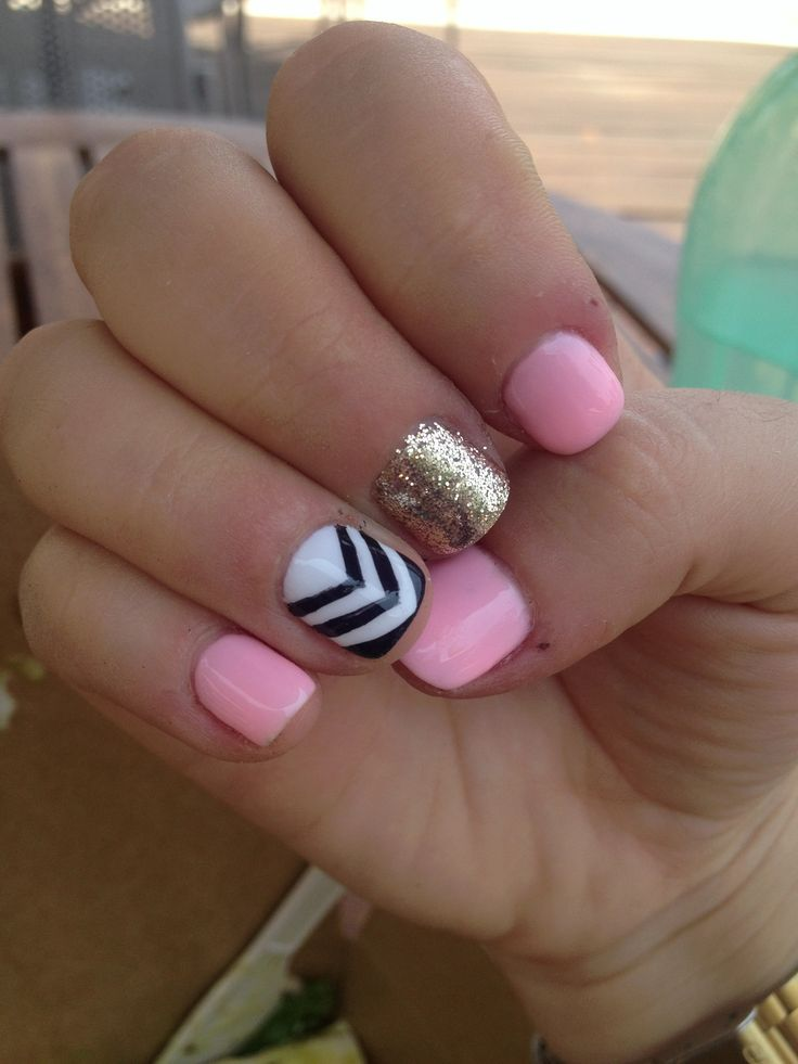 Simple Nail Designs For Short Nails - Page 2 of 6 - Nail Designs For You