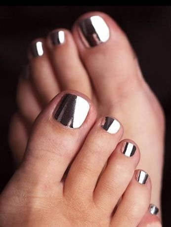 Black And White Toe Nail Design Nail Designs For You