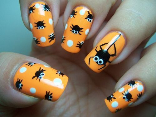 Halloween Nail Art 25 Spooky Ideas Page 2 Of 5 Nail Designs For You