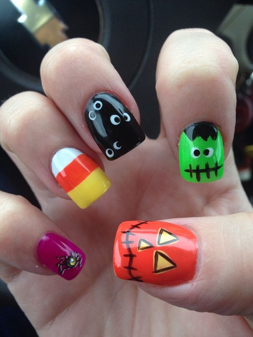 Halloween Nail Art 25 Spooky Ideas Designs For You