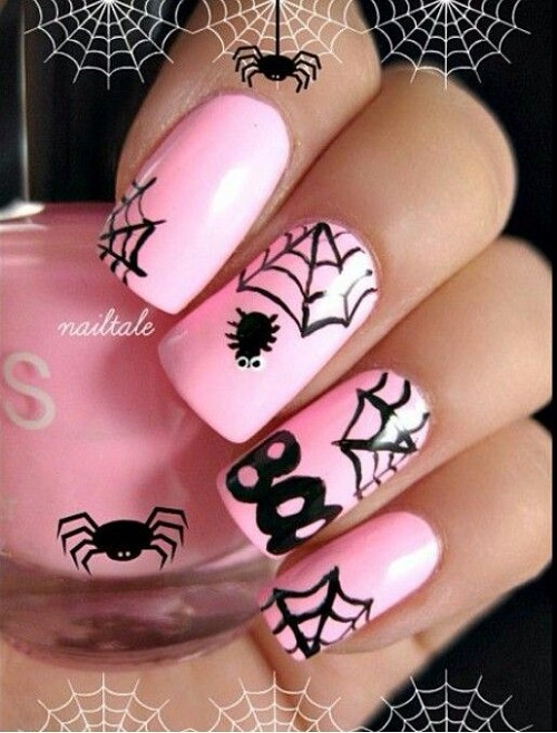Halloween Nail Art: 25 Spooky Ideas - Nail Designs For You