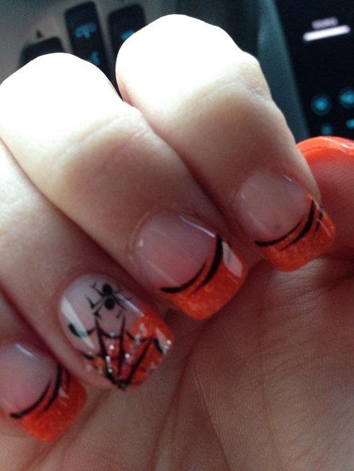 Halloween Nail Art 25 Spooky Ideas Page 5 Of 5 Nail Designs For You