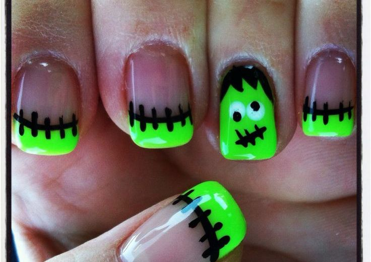 halloween nail art 25 spooky ideas