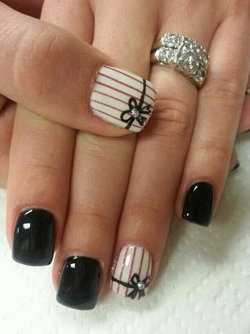 28 elegant nail designs and nail art nail designs for you cute elegant nail design facebook twitter google pinterest prinsesfo Choice Image