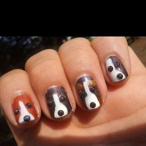 25 unique nail designs and nail art ideas page 2 of 5 nail dog unique nail design re sized prinsesfo Choice Image