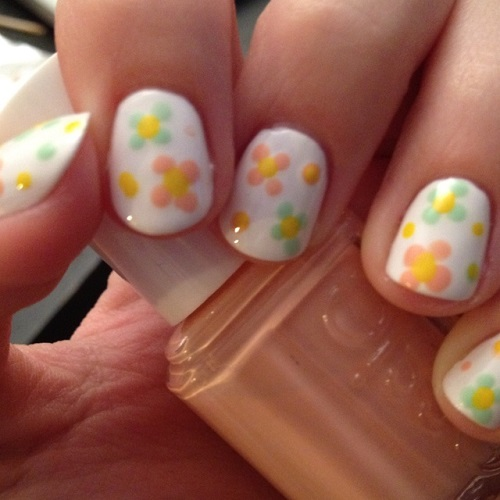 Flowers Nail Design Re-sized