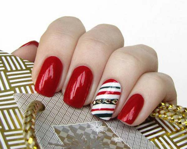 Classy Christmas Nail Design Nail Designs For You