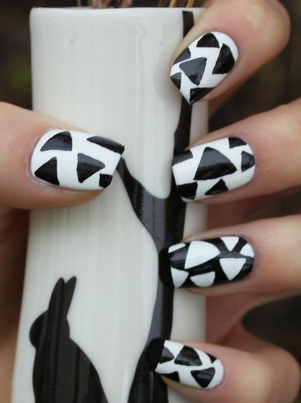 32 Black And White Nail Designs And Art Page 5 Of 6 Nail Designs