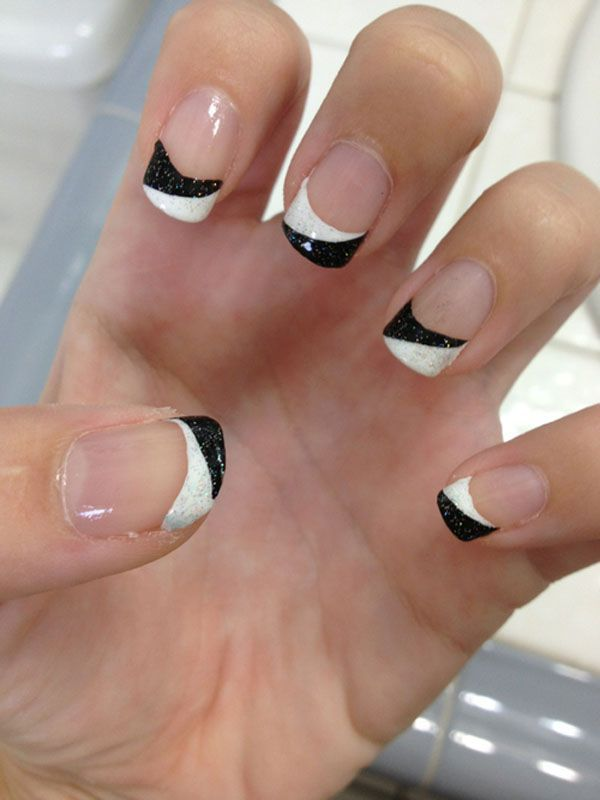 32 Black and White Nail Designs and Art - Nail Designs For You