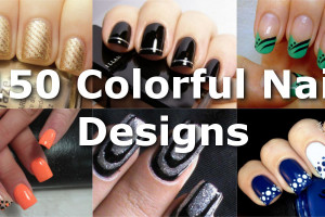 Colorful Nail Designs for Every Color