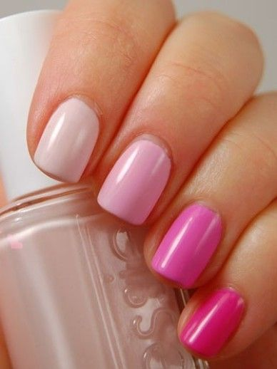 Different Shades of Pink Nail Designs