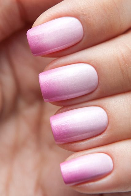 Pink Colorful Nail Designs