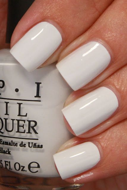 Plain White Nail Designs