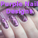 Purple Nail Designs Small
