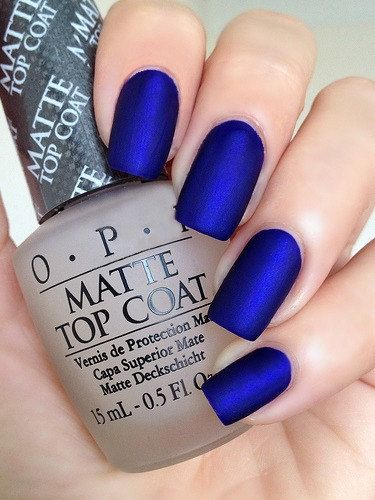 OPI Royal Blue Nails