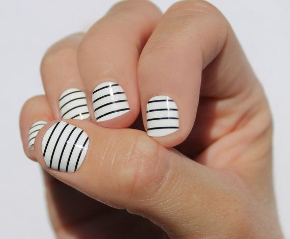 23 Striped Nail Designs and Tutorials - 23 Striped Nail Designs And Tutorials - Nail Designs For You