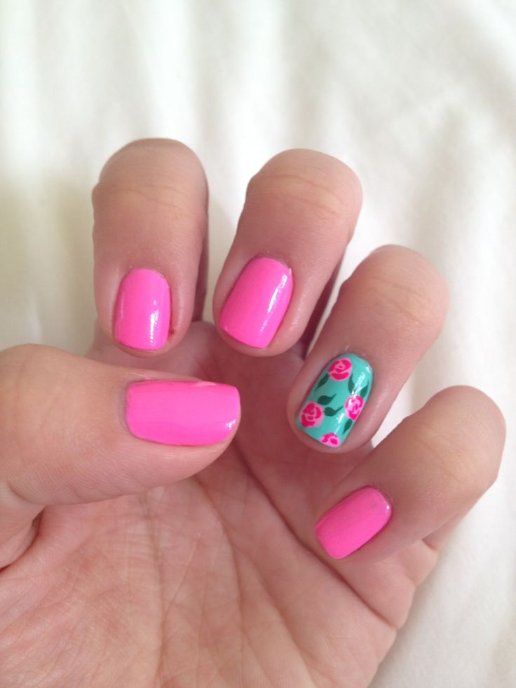 Floral Nail Designs and Fingertips - Page 4 of 4 - Nail Designs ...