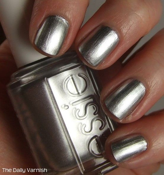 essie chrome metallic nail polish
