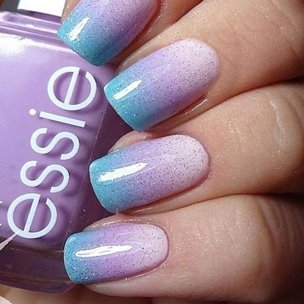 gradient-nail-art-8 - Nail Designs For You
