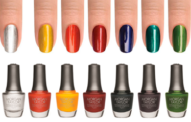 morgan taylor chrome collection polishes